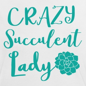 crazy succulent lady T-Shirts - Women's Ringer T-Shirt