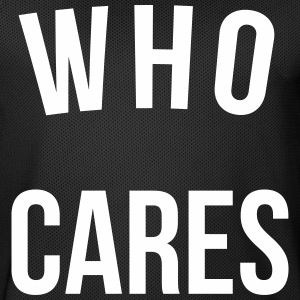 Who Cares Funny Quote Sportbekleidung - Männer Basketball-Trikot