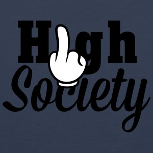 Fuck High Society Sports wear - Men's Premium Tank Top