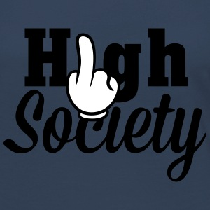 Fuck High Society Long Sleeve Shirts - Women's Premium Longsleeve Shirt
