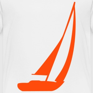 Sailingboat - Kids' Premium T-Shirt