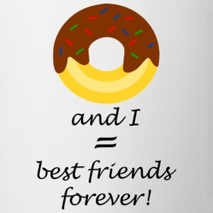 Donuts are my friends! - Tasse