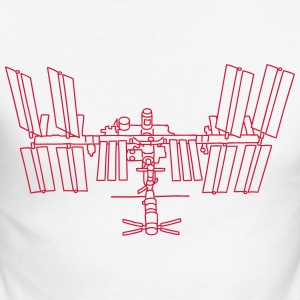 Space station ISS Long sleeve shirts - Men's Long Sleeve Baseball T-Shirt