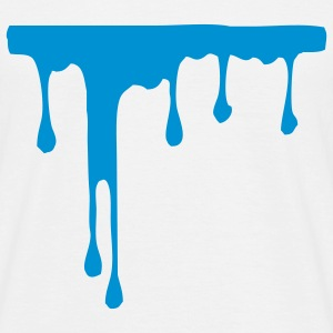 paint on wall - Men's T-Shirt