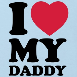 I love my daddy - Kids' Organic T-shirt