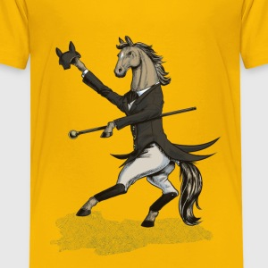 Horse Dressage Dancer T-Shirts - Kinder Premium T-Shirt