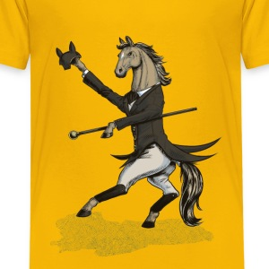Horse Dressage Dancer Shirts - Kids' Premium T-Shirt