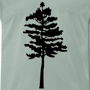 A pine tree - Men's Premium T-Shirt