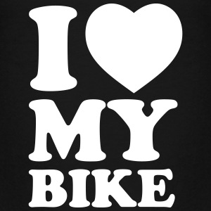I love my bike - Premium-T-shirt tonåring