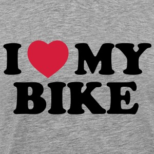 I love my bike - Men's Premium T-Shirt