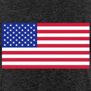 The american flag. - Teenage Premium T-Shirt