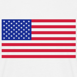 The american flag. - Men's T-Shirt