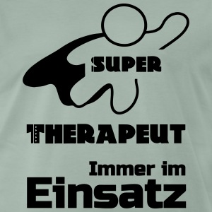 Super-Therapeut - Männer Premium T-Shirt