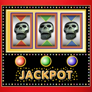 jackpot - slot machine with skulls Mugs & Drinkware - Full Colour Mug
