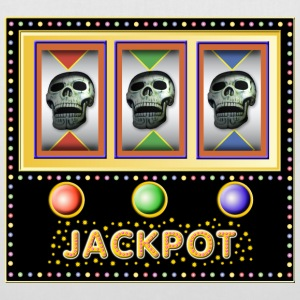 jackpot - slot machine with skulls Bags & Backpacks - Tote Bag