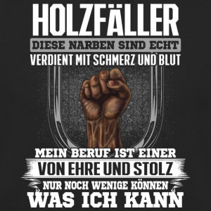 Holzfäller - Narben  - Unisex Hoodie
