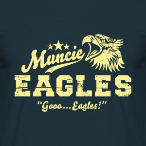 Muncie Eagles - Männer T-Shirt