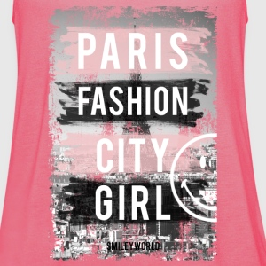 SmileyWorld Paris Fashion Girl - Dame tanktop fra Bella