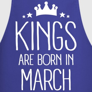 Kings Are Born In March Tabliers - Tablier de cuisine