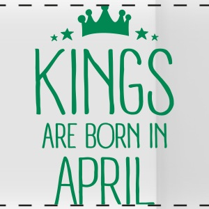 Kings Are Born In April Bouteilles et Tasses - Tasse panorama