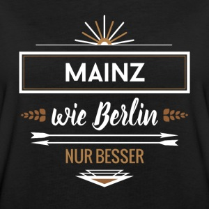 mainz wie berlin T-Shirts - Frauen Oversize T-Shirt