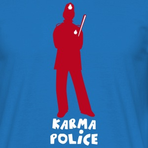 KARMA POLICE - Men's T-Shirt