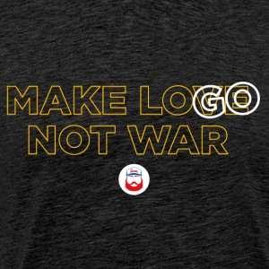 Make LOGO not WAR - Maglietta Premium da uomo
