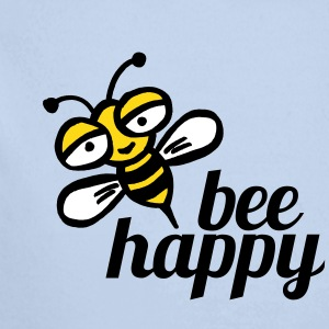 Be happy as a baby bee - Longlseeve Baby Bodysuit