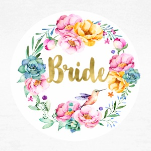 bride_bouquet T-Shirts - Women's T-Shirt