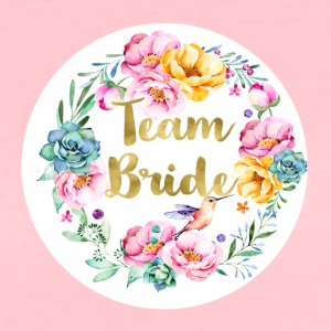 team_bride_bouquet T-Shirts - Frauen Premium T-Shirt