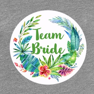 team_bride_flower_2 T-Shirts - Frauen Premium T-Shirt