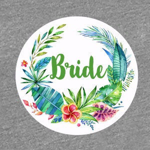 bride_flower_2 T-Shirts - Women's Premium T-Shirt
