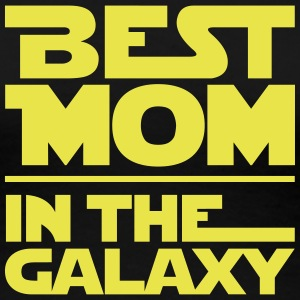 BEST MOM IN THE GALAXY T-Shirts - Frauen Premium T-Shirt