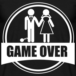Game over , Couples, Stag do - Men's T-Shirt