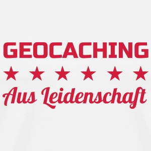 Geocaching / Geocacher / Compass / GPS T-Shirts - Men's Premium T-Shirt