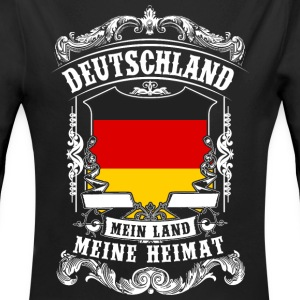 Germany - my country - my home Baby Bodysuits - Longlseeve Baby Bodysuit