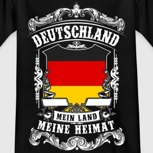 Allemagne - mon pays - ma maison Tee shirts - T-shirt Ado