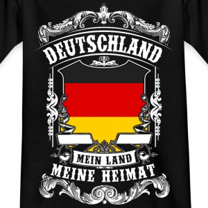 Germany - my country - my home Shirts - Teenage T-shirt