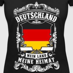 Germany - my country - my home T-Shirts - Women's V-Neck T-Shirt