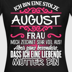 August - Liebende Mutter  - Frauen T-Shirt