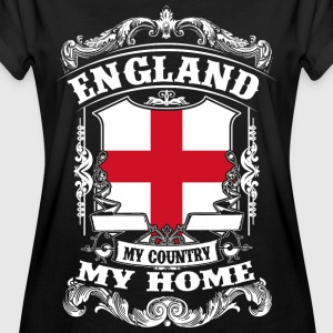 England - My country - My home T-Shirts - Frauen Oversize T-Shirt