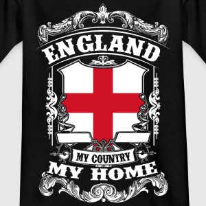 England - My country - My home Shirts - Teenage T-shirt