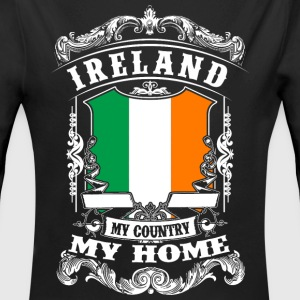 Ireland - My Country - My Home Babybody - Ekologisk långärmad babybody