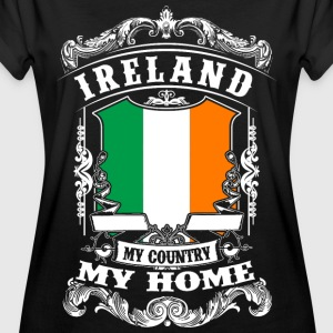 Ireland - My Country - My Home T-Shirts - Frauen Oversize T-Shirt