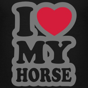 I love my horse - Teenage Premium T-Shirt