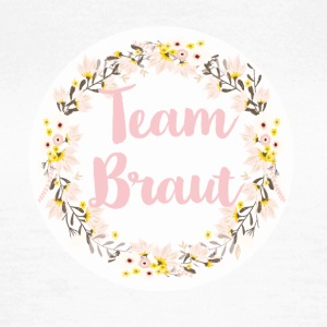 team_braut_wreath_flower_power T-Shirts - Frauen T-Shirt