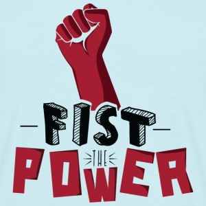 Fist The Power Tee shirts - T-shirt Homme