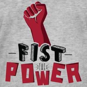Fist The Power Tee shirts - T-shirt vintage Homme