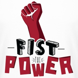 Fist The Power Tee shirts - T-shirt long homme