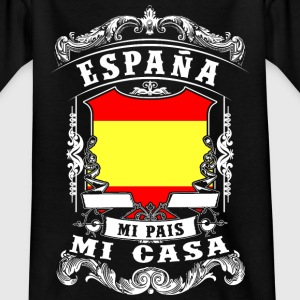 España - Mi Pais - Mi Casa Shirts - Teenage T-shirt